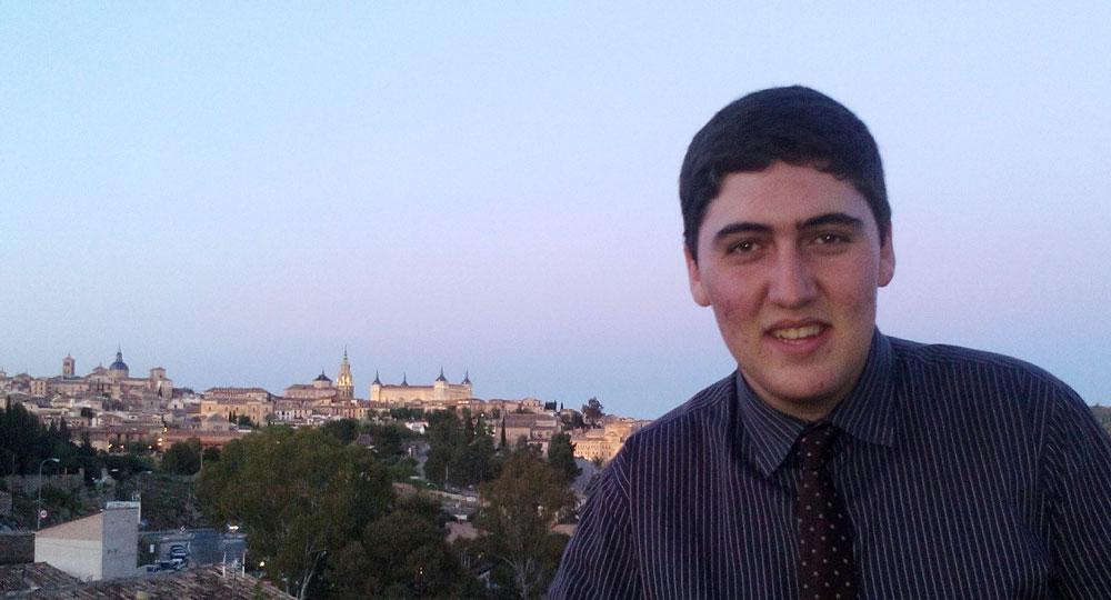 Samuel García Huete obtiene la Beca Amgen Scholars Program para investigar en París