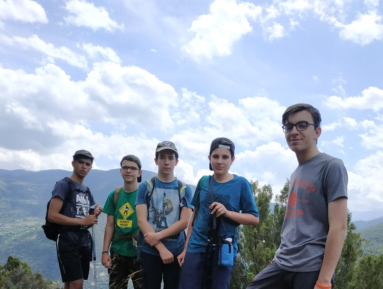 Cruzando los Pirineos